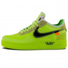 Мужские Nike Air Force 1 Low x Off-White Volt