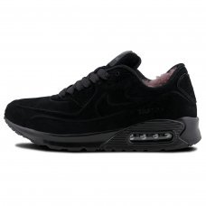 Фотография 1 Зимние Nike Air Max 90 VT All Black With Fur