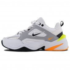 Фотография 1 Унисекс Nike M2K Tekno White Gray Yellow