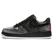Мужские Nike Air Force 1 '07 QS Black/Black/White