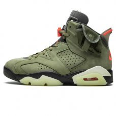 Мужские Nike Air Jordan 6 Retro Travis Scott