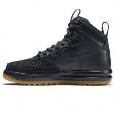 Фотография 1 Зимние Nike Lunar Force 1 Duckboot Black With Fur
