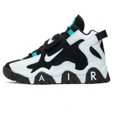 Фотография 1 Унисекс Nike Air Barrage Mid Black White Cabana