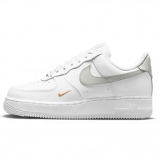 Женские Nike Air Force 1 '07 Essential Low White/Grey/Gold
