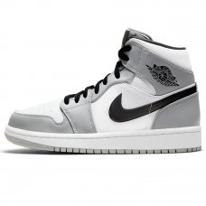 Унисекс Nike Air Jordan 1 Retro Mid Light Smoke Grey