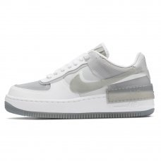 Женские Nike Air Force 1 Shadow SE White/Grey Fog/Photon Dust/Particle Grey