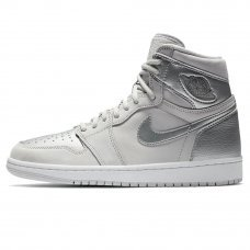 Унисекс Nike Air Jordan 1 Japan Metallic Silver Release Details