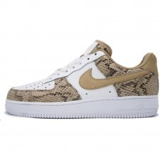 Женские Nike Air Force 1 '07 White/Snakeskin