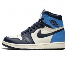 Фотография 1 Унисекс Nike Air Jordan 1 Retro High OG Obsidian