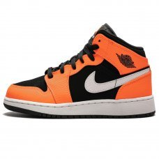 Фотография 1 Унисекс Nike Air Jordan 1 Mid Black Cone
