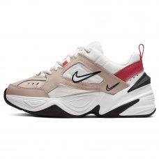Женские Nike M2K Tekno Fossil Stone/Summit White/Track Red