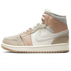 "Женские Nike Air Jordan 1 Mid ""Milan"" Sail/Light Bone/String"