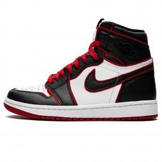 Фотография 1 Мужские Nike Air Jordan 1 Retro High OG Bloodline Black/White/Red