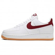 Мужские Nike Air Force 1 Low White/Red Gum