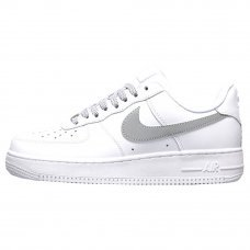 Женские Nike Air Force 1 '07 White/Gray