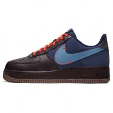 Женские Nike Air Force 1 Premium Burgundy Ash/Celestine Blue