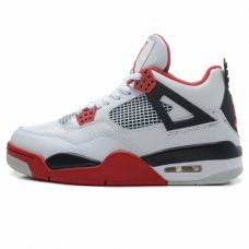 Мужские Nike Air Jordan 4 Retro Fire Red