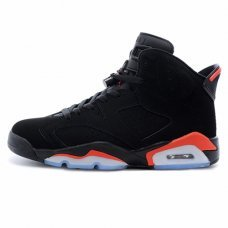Унисекс Nike Air Jordan 6 Retro Black/Red