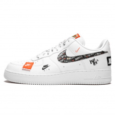 Унисекс Nike Air Force 1'07 White/Black Total Orange