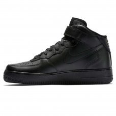 Фотография 1 Унисекс Nike Air Force 1 Mid Black