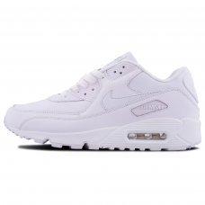 Фотография 1 Унисекс Nike Air Max 90 Leather White