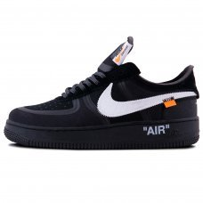 Мужские Nike Air Force 1 x Off White Black