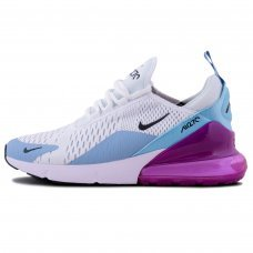 Женские Nike Air Max 270 White/Blue/Purple