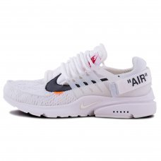 Мужские Off White x Nike Air Presto White