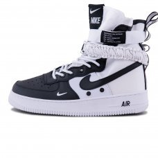 Мужские Nike Air Force 1 SF Mid Black/White