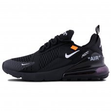 Унисекс OFF-White x Nike Air Max 270 Black