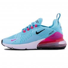 Женские Nike Air Max 270 Blue/Pink/Black/White