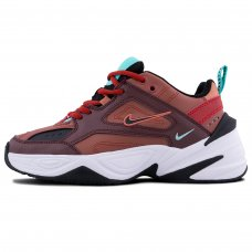 Фотография 1 Унисекс Nike M2K Tekno Mahogany Mink Black Burnt Orange