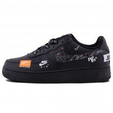 Унисекс Nike Air Force 1 Just Do It Black Orange