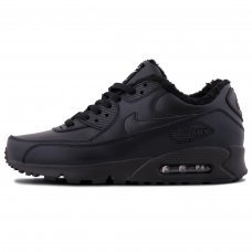 Фотография 1 Зимние Nike Air Max 90 Black With Fur