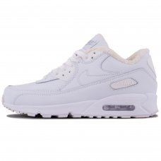 Зимние Nike Air Max 90 White With Fur