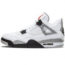 Мужские Nike Air Jordan 4 Retro Cement