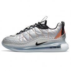 Мужские Nike Air Max 720-818 Metallic Silver/Black/Total Orange