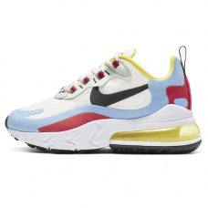 Женские Nike Air Max 270 React W Phantom Light Blue/Red