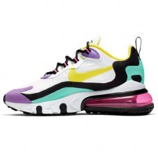 Женские Nike Air Max 270 React Trainer Black/Dynamic/Yellow/White