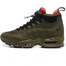 Мужские Nike Air Max 95 SneakerBoot Olive